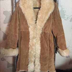 Wilson's Suede Coat lined S NWT